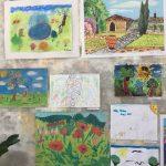 """Участие на децата от група ,,Звездица"""" в конкурса за детска рисунка на тема:,, Моята ботаническа градина"""""""